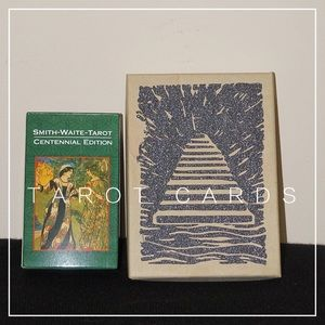 Other - Tarot Cards Set of 2